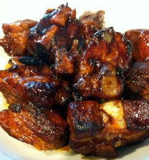 Braised Chinese short ribs